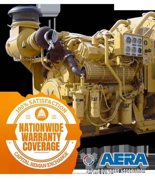 CAT 3408 Engines & Parts - Capital Reman Exchange