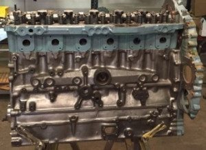Remanufactured Diesel Engines Block with Valves