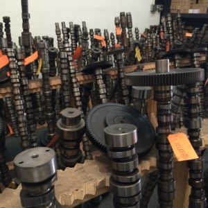 Camshaft Core Inventory