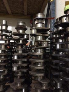 Crankshaft Cores Ready For Reman