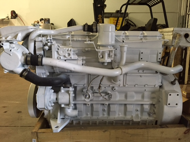 CAT 3126 Marine Engine
