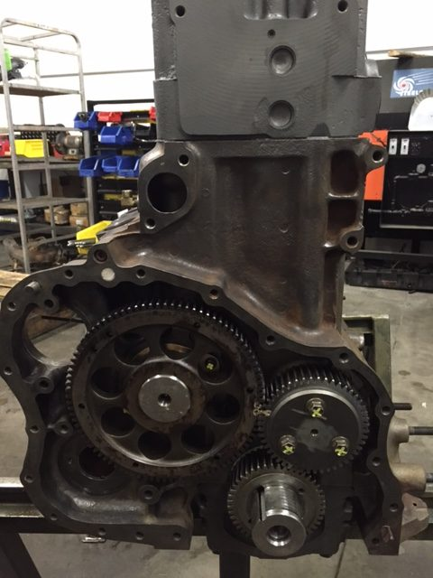 Mack E7 Timing Gears