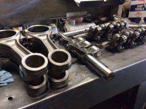 Connecting Rods and Rocker Assemblies