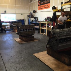 3 Engine Torn Down and Awaiting Builds