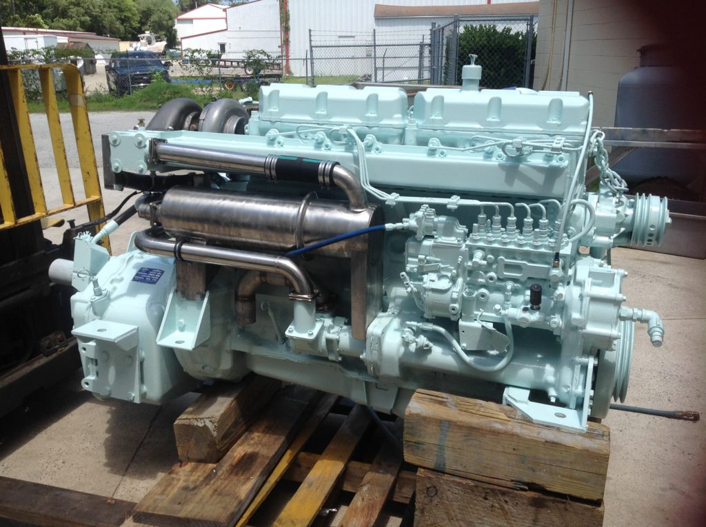 Mack E7 Marine Engine