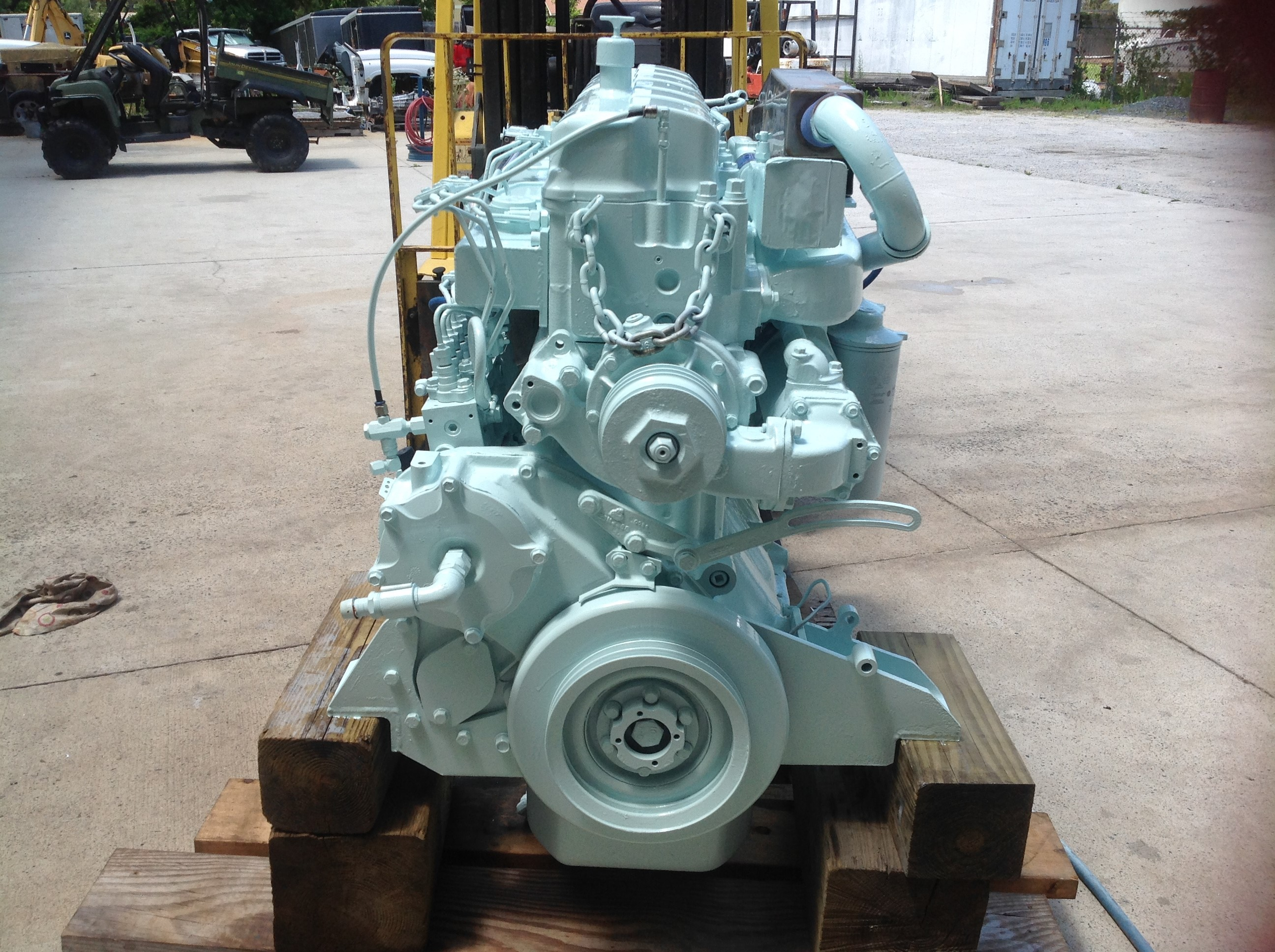 Mack E7 Engine Marine