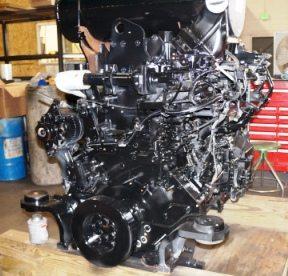 Komatsu Reman Engine
