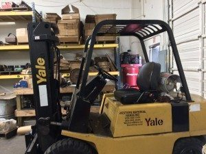 Machine Shop Fork Lift