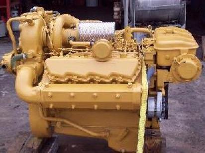 Cat 3208 10 capital reman exchange for Diesel marine motors for sale