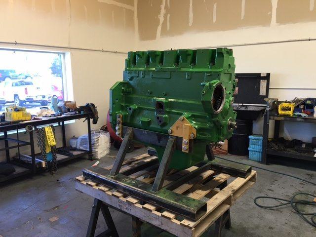 Rebuilt John Deere 6061 Engine