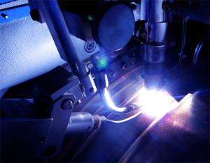 Plasma Arc Welding Upclose
