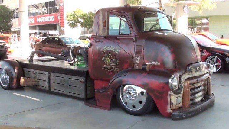 Rat Rod Diesel Truck