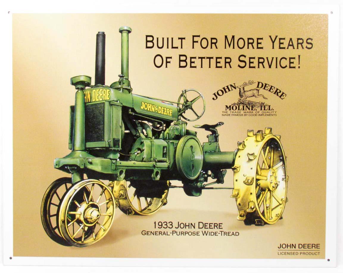 John Deere Tractor Ad : John deere history odd facts about