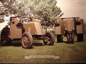 WWII John Deere Armored Tractors