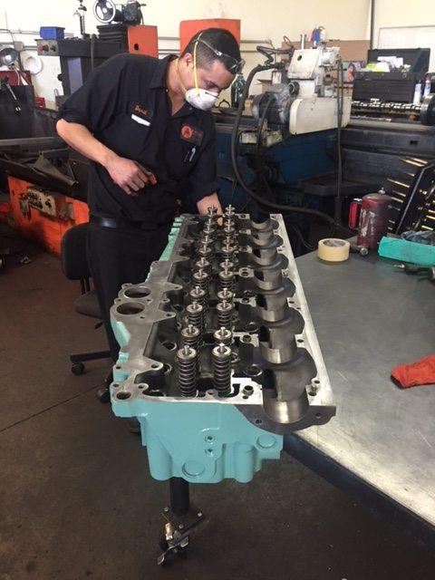 Detroit Diesel Series 60 Cylinder Head