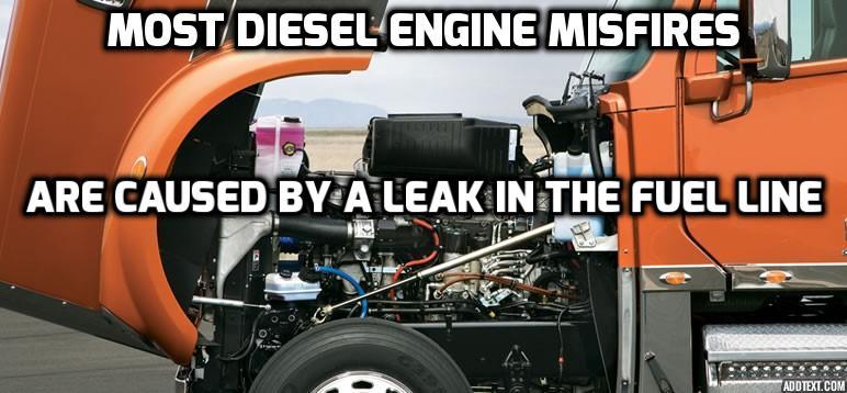 Diesel Engine Misfire Diagnosis