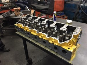 Remanufactured CAT Cylinder Head