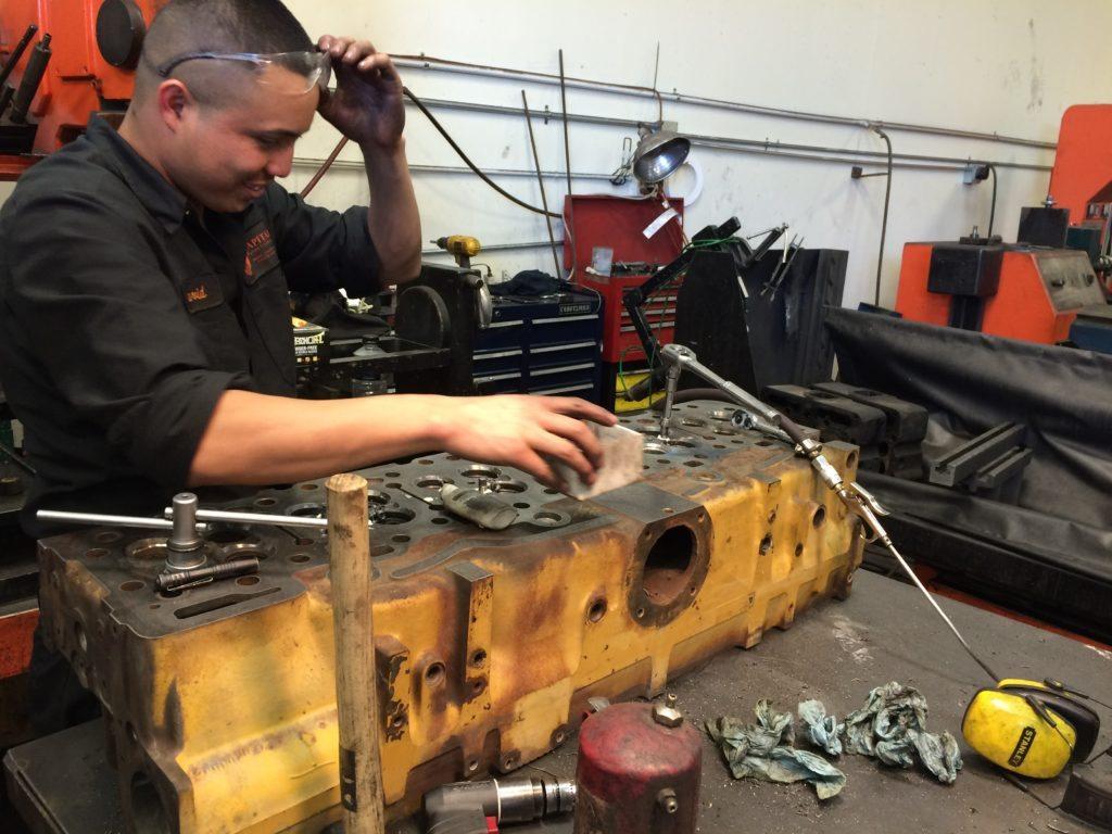 Diesel Machine Shop Work
