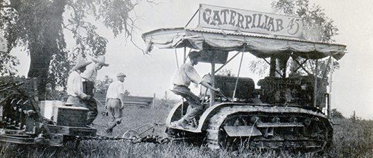 Caterpillar History