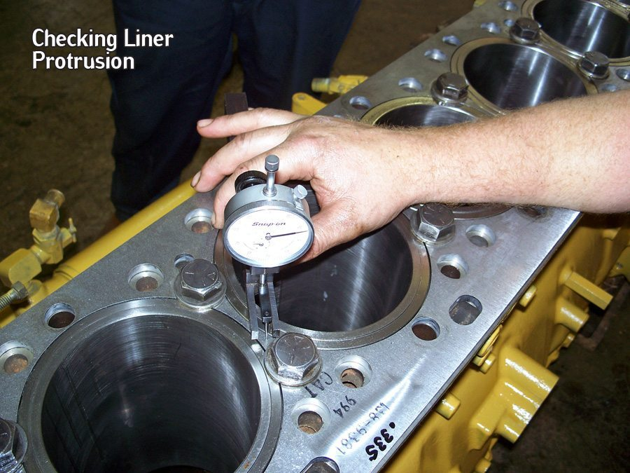 Shop Talk: Cylinder Liner Protrusion Installation Tips