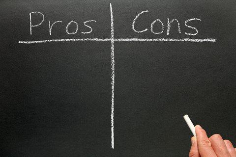 Pro vs. Con Chart