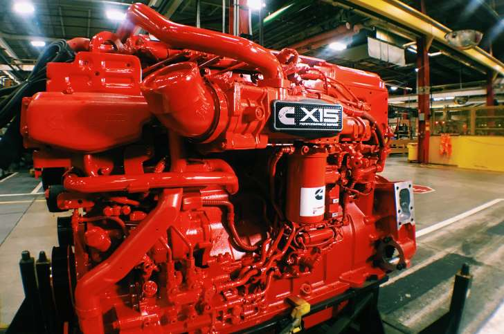 Cummins X15 Diesel Engine