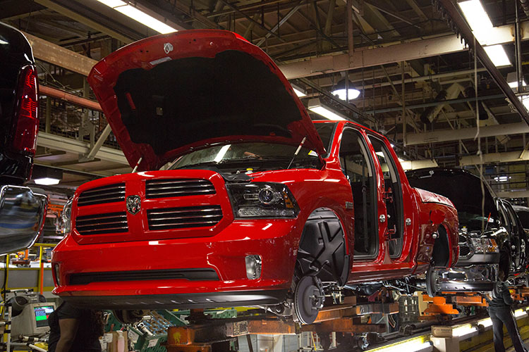 Dodge Ram Assembly Line