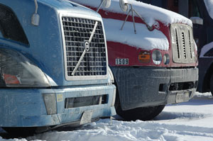 Diesel Trucks Winter