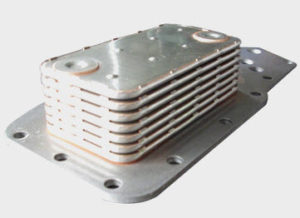 Diesel Engine Oil Cooler