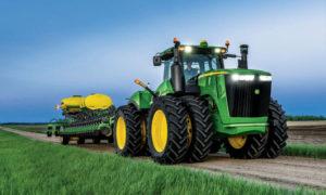 John Deere Combine Tractor