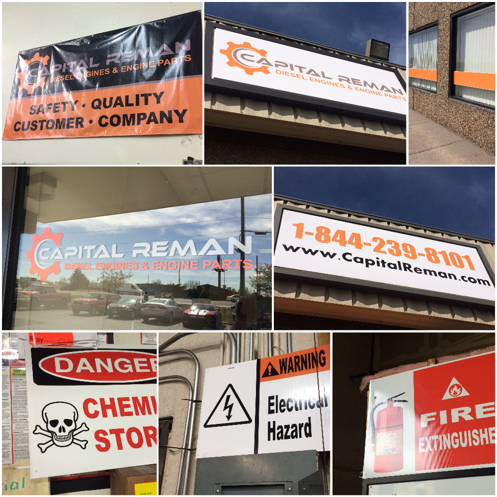 Safety Signs Capital Reman
