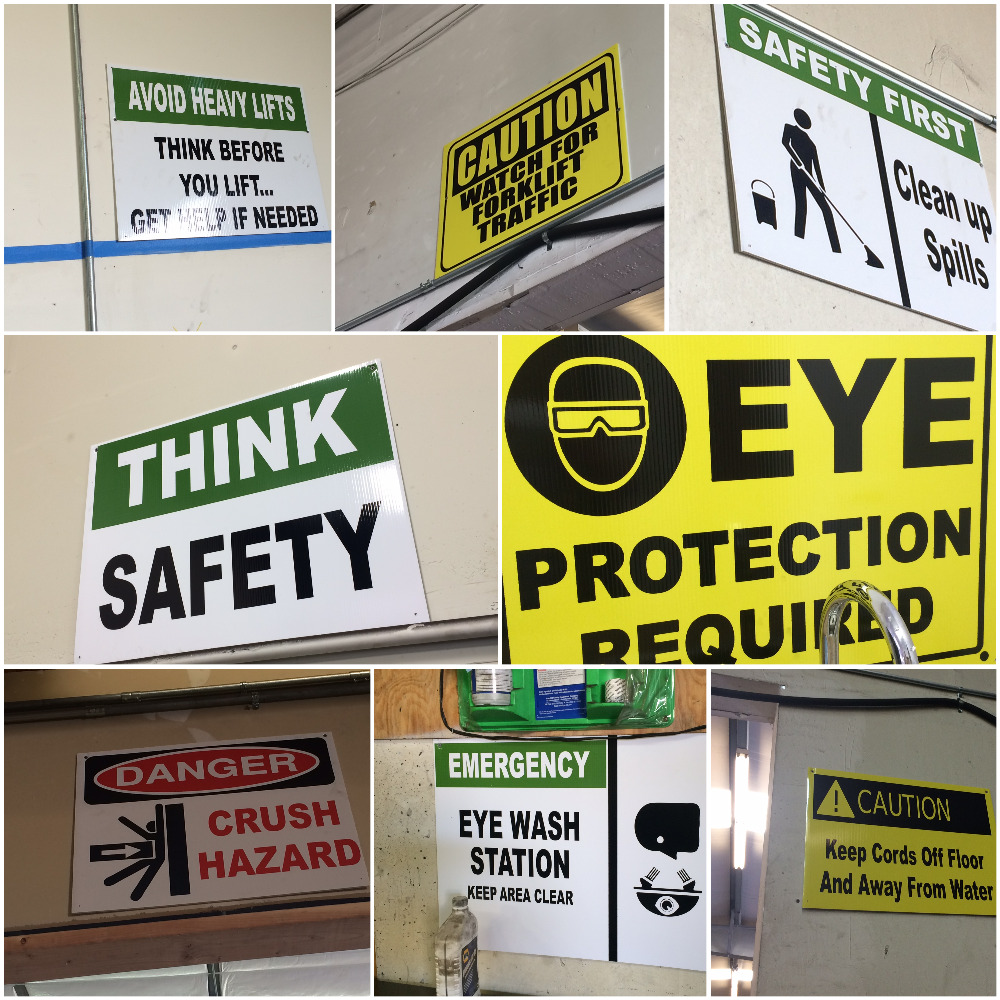 Safety Signs Capital Reman 2