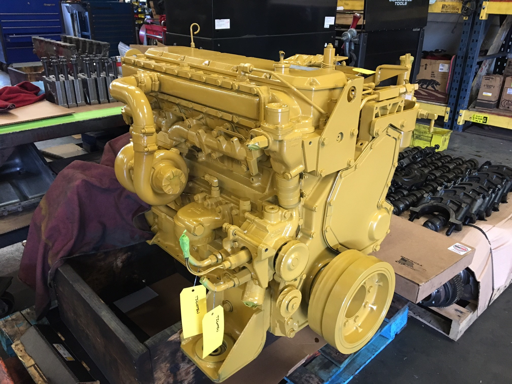 CAT 3116 Complete Engine Built By Ben