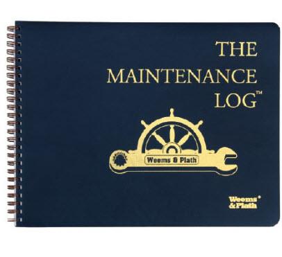 Used Semi Truck Maintenane Log Book