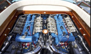 Marine Diesel Engine Installed