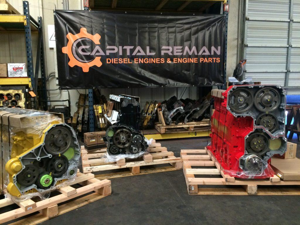 Mack Aset, Cummins ISX, CAT 3306 Engines for Stock