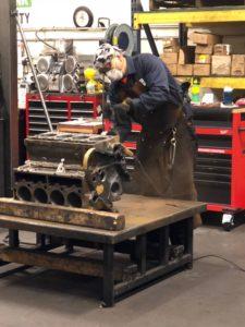 John Deere 4045 Welding
